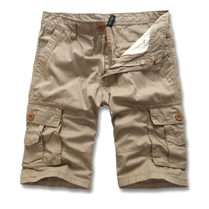 Military Tactical Cargo Shorts Men Army SWAT Combat Shorts Casual Cotton Shorts Multi-pocket Combat Trousers Plus Size