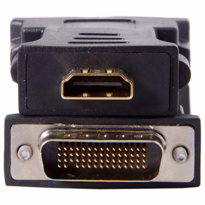 כרטיס גרפי DMS-59pin זכר ל- HDMI 1.4 נקבה הרחבה מתאם עבור PC כרטיס גרפי (5)