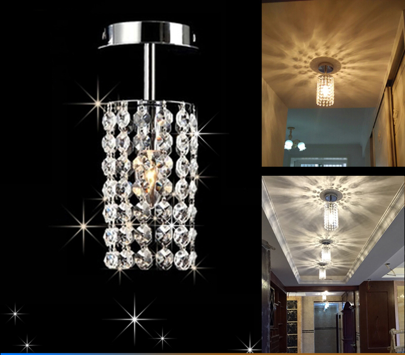 Crystal Led Chandeliers Hallway Small Crystal Light Lamp