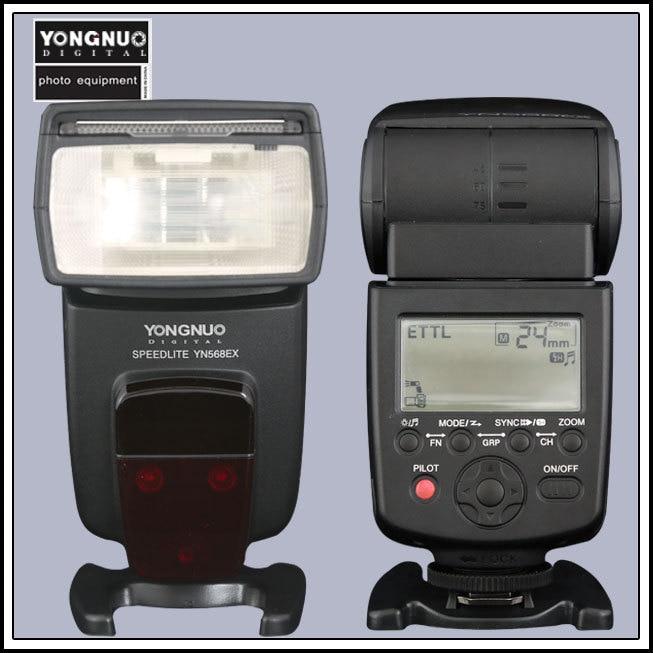 Yongnuo YN568EX YN-568EX TTL High Speed Flash light Speedlite for Nikon D750 D7000 D4 D800 D610 D600 D800E D7100 D7200 D5200 yn e3 rt ttl radio trigger speedlite transmitter as st e3 rt for canon 600ex rt new arrival