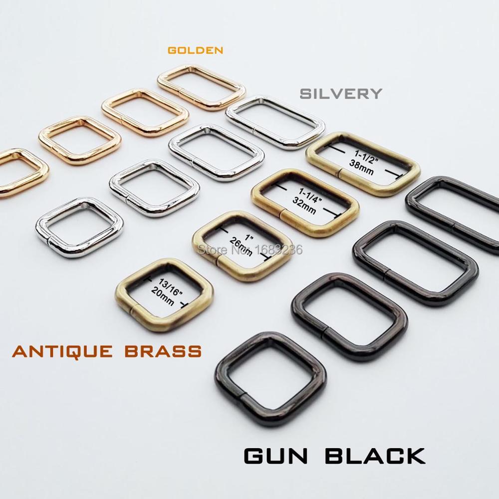 Metal Heavy Duty Hand Bag Purse Strap Belt Web Dee D Ring Buckle Leather Craft