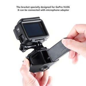 Image 5 - VIJIM GP 1 GoPro Vlogging Stand Bracket 2 Cold Shoe Mount 1/4 Screw for GoPro Hero 7 6 5 SJcam DJI Osmo Action Sport Cameras