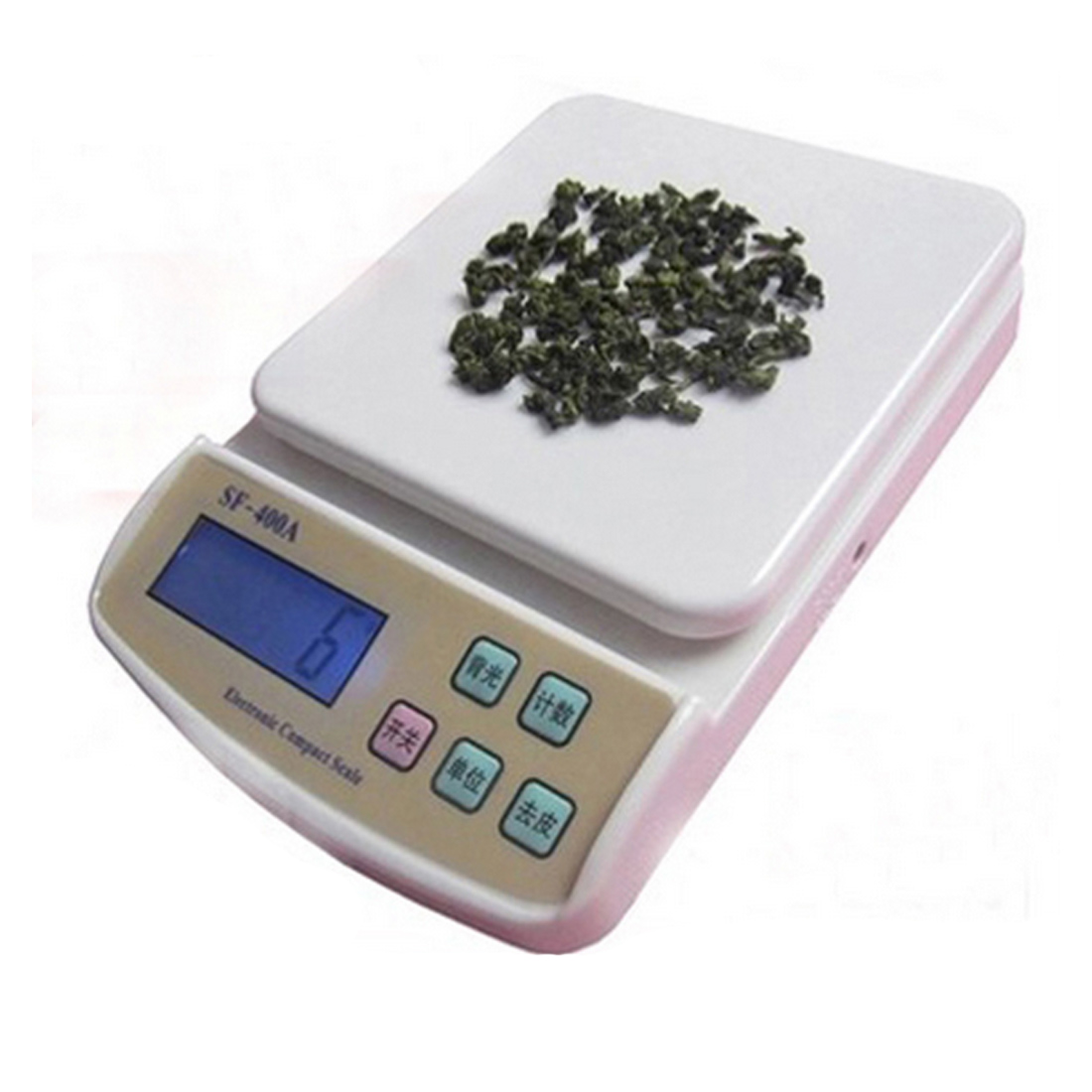 Digital Electronic Cales Pocket 10Kg/1g Kitchen Weighing Scale LCD Display Backlight Scales Kitchen Foods Cale New Mini