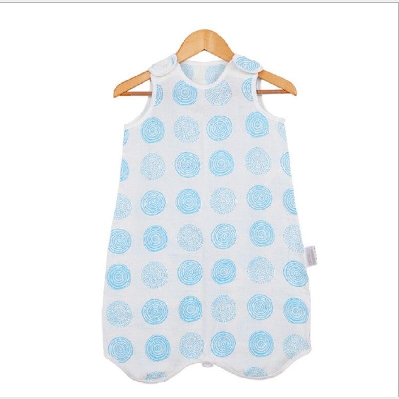 Children Baby Sleeping Bags Muslin Cotton Boy Girl Thin Bag For Summer Bedding Bebe Sacks Sleepsacks 0-4 years