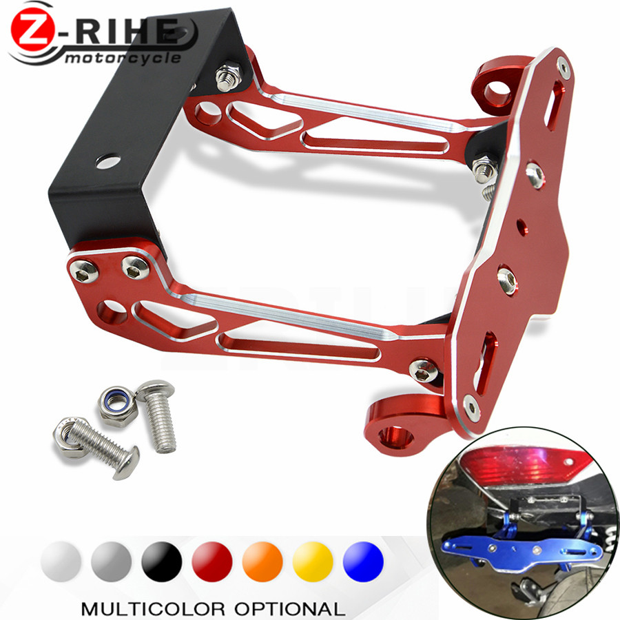 1pcs Fender Eliminator Motorcycle License Plate Bracket Universal 2005 Ducati 749 Wiring Harness For 999 1098 1198 S R 1198s 848 E In Covers Ornamental