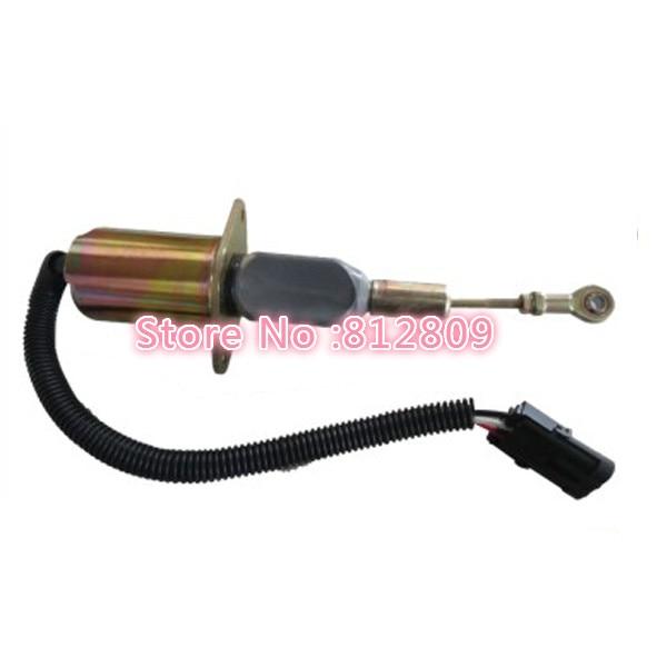 Shutdown Solenoid Valve 3932545 for SA-4639-12 12V DC for Diesel Engine free shipping цена