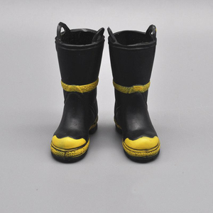 Image 2 - 1/6 Boots Model Fireman Anti slip Shoes For 12 inches Soldiers Action Figures Scene Accessories