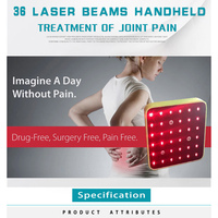 ATANG профессиональная биолазерная терапия клиника Обезболивание боли/заживление ран/тендинит 650 + 808nm Лазерная физиотерапевтическая боль ус