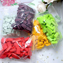 Foam Chunks Filler Slime Supplies Accessories 70pcs DIY Toys Fluffy Mud slime Decoration Foam Beads Kids Slide Putty Toy lizun