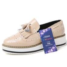 Tassel Slip-on Creeper Shoes
