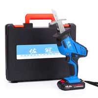 Two Batteries 2Ah/3Ah 12V/21V lithium reciprocating saw saber saw curve saw multifunctional woodworking Saws