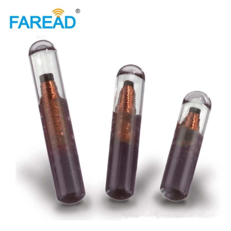X100pcs HF Vigo Glass Tag ,2*12mm 13.56Mhz RFID Microtransponder,ISO15693