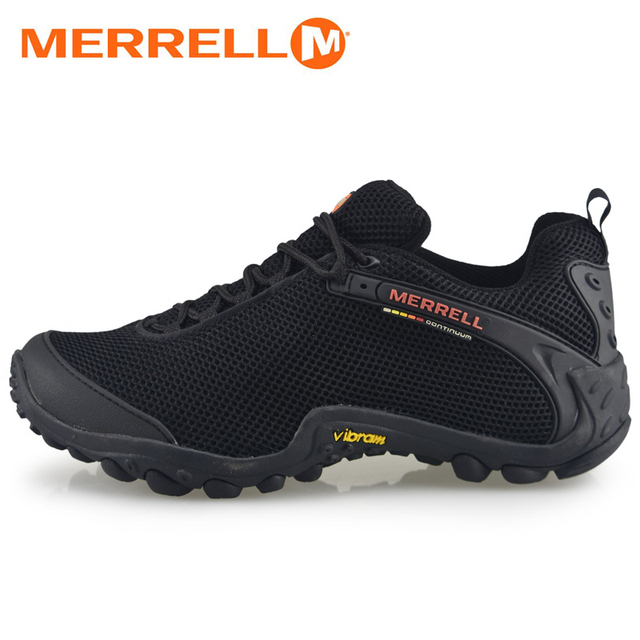 Asli Merrell Pria Bernapas Berkemah Olahraga Outdoor Jala Mountaineer  Climbing Hiking Aqua Sepatu Untuk Pria Sneakers 8717289cf8