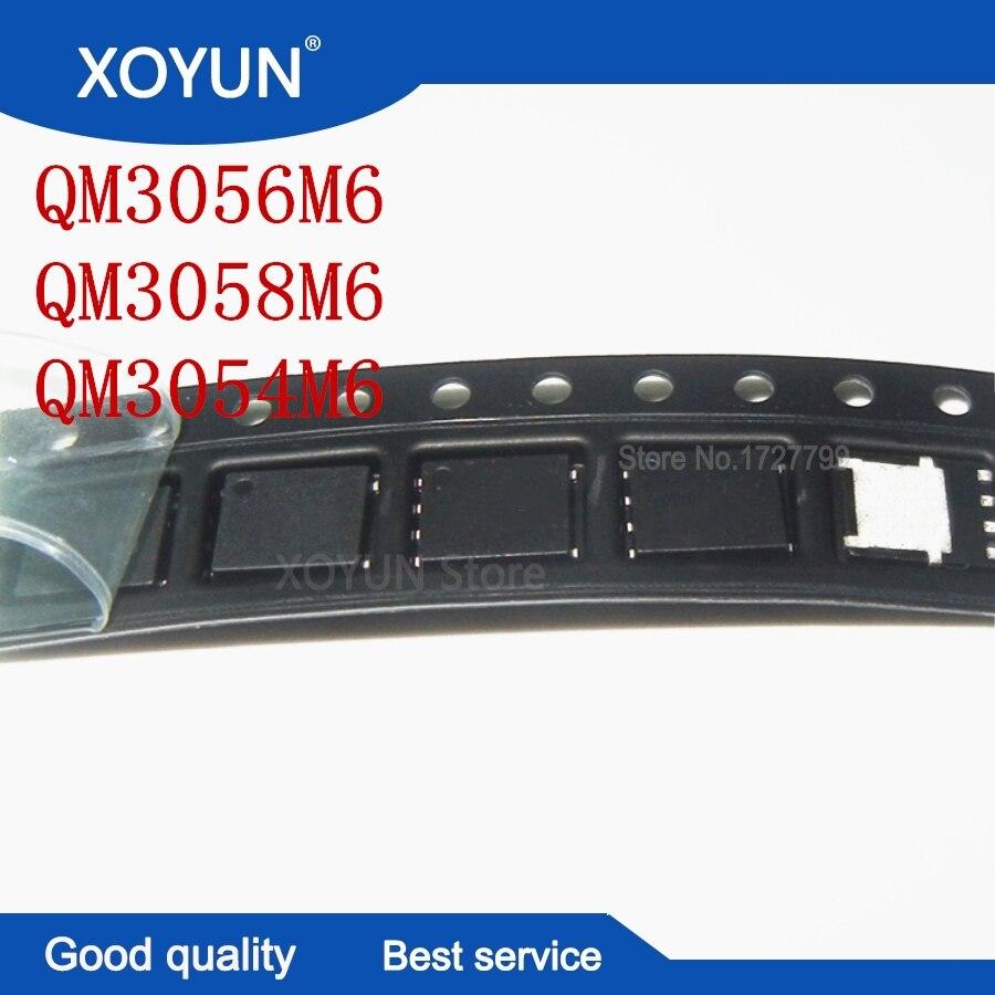 2pcs/lot QM3054M6 QM3056M6 QM3058M6 M3054M M3056M M3058M QFN-8 MOSFET 100%New