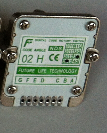 02H Rotary switches band switch FUTURE Digital band switch feed override CNC panel knob switch цена