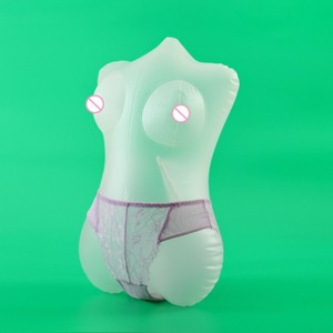 Sexdoll For Men PVC Inflatable Dolls Half Body Sexy Doll Adult Toy Sex Shop Transparent Big Ass Big Boobs Love Male Masturbation(China)