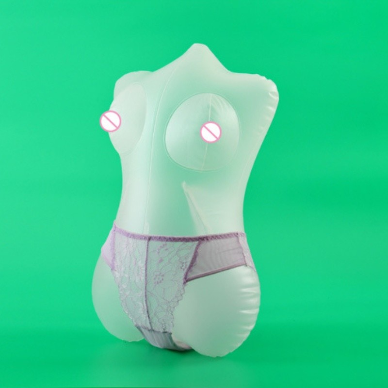 Sexdoll For Men PVC Inflatable <font><b>Dolls</b></font> Half Body Sexy <font><b>Doll</b></font> <font><b>Adult</b></font> <font><b>Toy</b></font> <font><b>Sex</b></font> Shop Transparent Big Ass Big Boobs Love Male Masturbation image