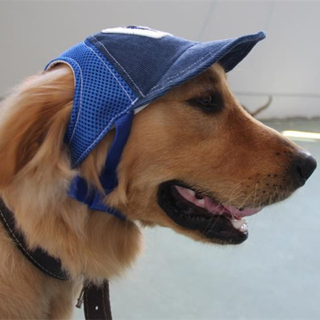 54247d558d7de Pet perro guapo sombrero de vaquero gorra de béisbol del perrito de peluche  traje de accesorios