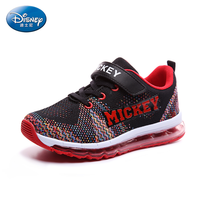Disney  Boys Shock Absorption  Sport Shoes Woven mesh surface  Air Cushion Breathable Children Sport Casual Shoes DS2285 new 2016 boys child sport shoes breathable sneakers trainers children runing shoes for skid breathable mesh baby boys shoes