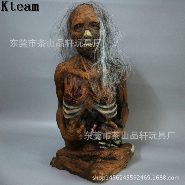halloween horror props bloody broken body haunted house party decoration scary zombie mummy ghost women deorations