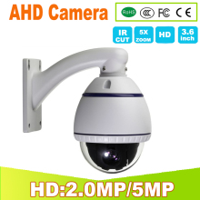 New Arrival 1080P 2.0MP 5MP AHD Mini PTZ Camera 5X Optical Zoom  High Speed Dome AHD-H Security YSY-416A-2 YUNSYE