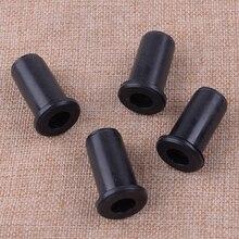 Letaosk 4 pçs preto anti vibração buffer montagem de borracha 501763902 apto para husqvarna 50 51 55 55 peças motosserra fazendeiro 501763902