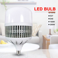 LED Bulb 150W/200W Super Bright High Power Workshop Lamp Factory Indoor Lights Courtyard Lamps JDH99