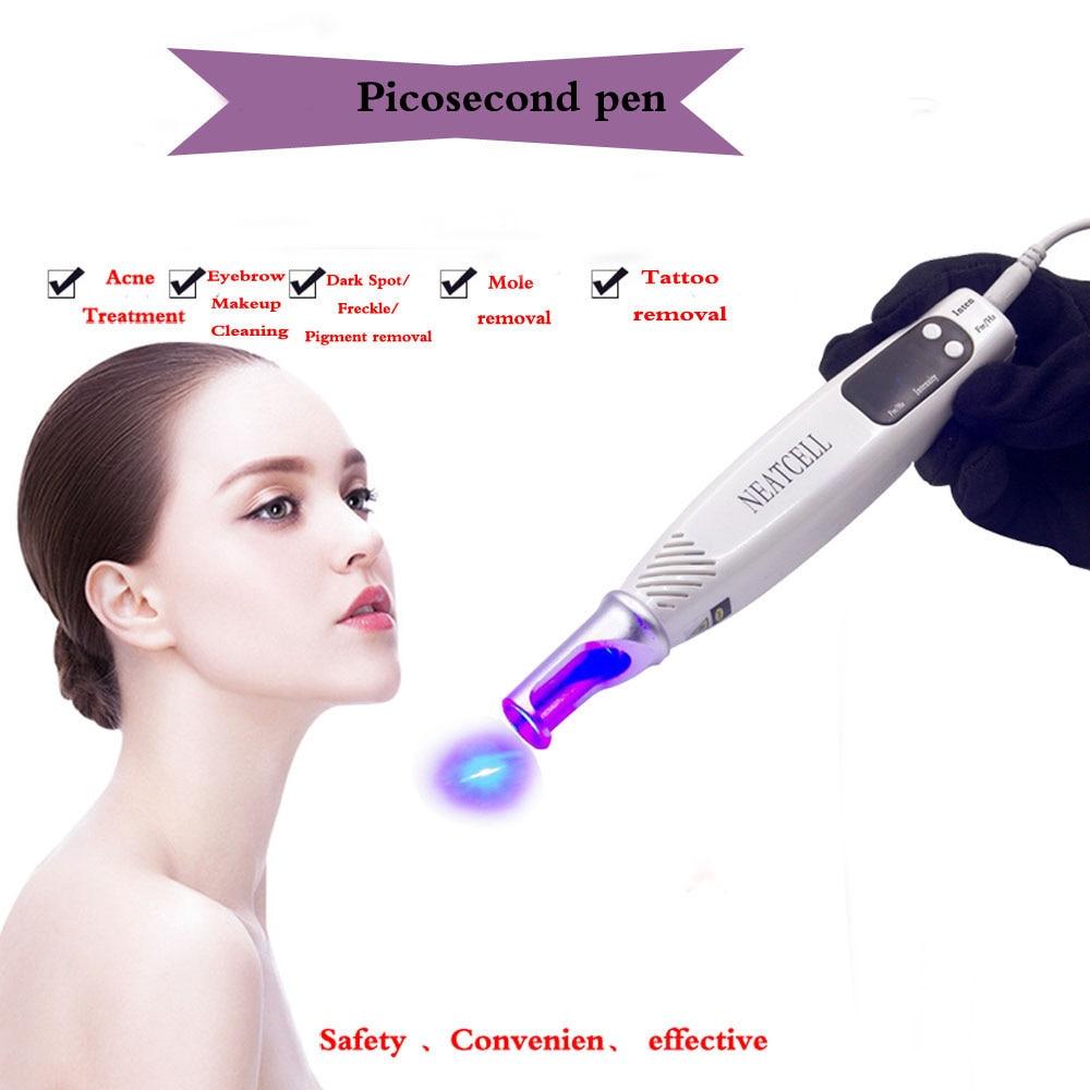 Skin care tools tattoo remove picosecond pen therapy Tattoo Scar Mole Freckle Removal Pen Dark Spot Black Pigment Removal device