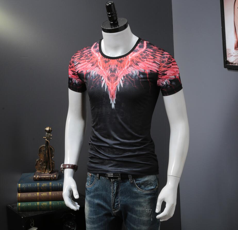 Men'S T shirt Pink 2018 new design men top tee short sleeved B962-in T-Shirts from Men's Clothing on Aliexpress.com | Alibaba Group 1