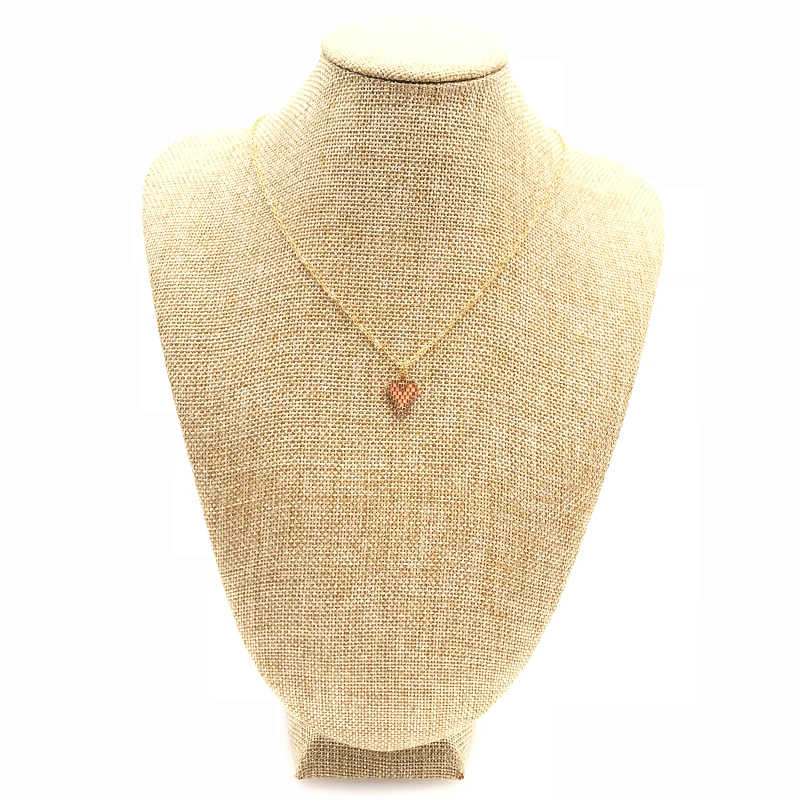 2019 FAIRYWOO Handmade Woman Sweet Heart Gold Thin Chain Choker Imported Miyuki Glass Beads Cute Collares Necklace Gift Presents