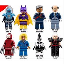Super Heroes Batman Mini Mayor Ton Batgirl Mr. Freeze Kabuki Cnins Zebra Man Magpie Movie Figures Building Blocks Toys