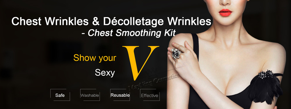 ︻Chest Wrinkles Decolletage Wrinkles Smoothing Kit Silicone ...
