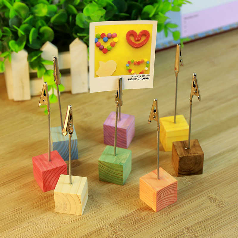 NUOBESTY 2pcs Place Card Holder Rainbow Cloud Metal Wire Table Number Holders Picture Photo Clip Memo Note Stand Centerpiece for Home Office Wedding Birthday Party