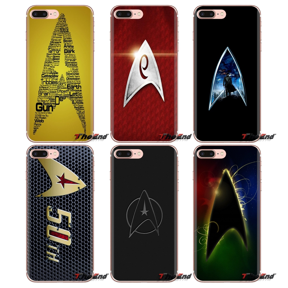 Star trek star logo watercolor jigsaw TPU Cases For Xiaomi Mi3 Samsung A10 A30 A40 A50 A60 A70 Galaxy S2 Note 2 Grand Core Prime