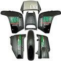 Plástico ABS carenado capo de carrocería conjunto para Honda NX250 AX-1 deportes Traverse negro nuevo