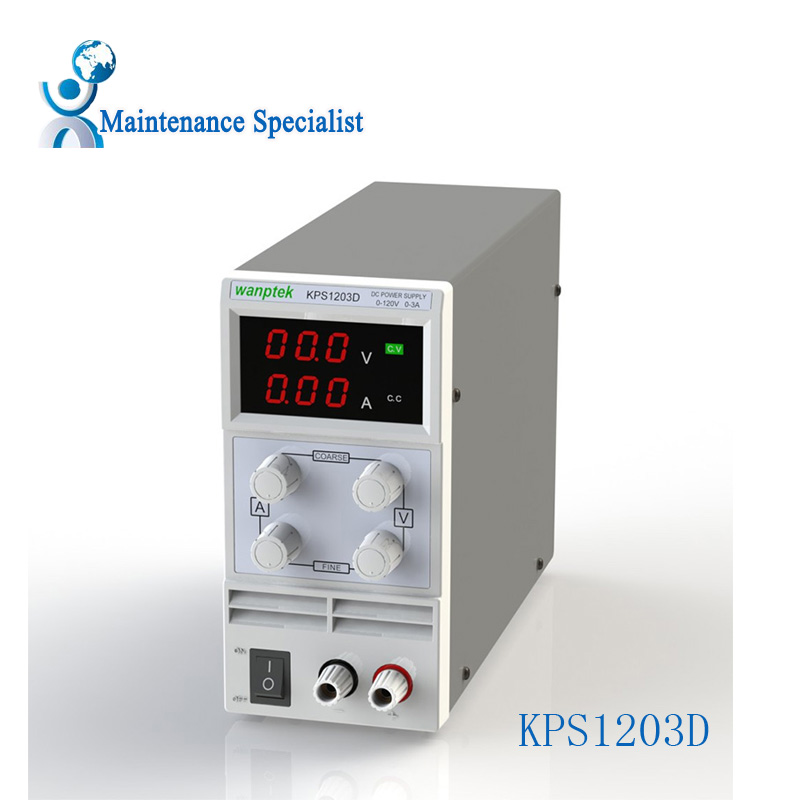 ФОТО KPS1203d/01D 02D Adjustable High precision digital LED display switch DC Power Supply 120V1a 2A 3A 5A 0.1V 0.001A