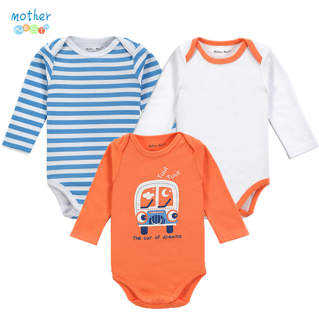 99dd603da22d 3PCS   LOT 2017 New Baby BB Boy Infant Girl Short Sleeve 100% Cotton ...