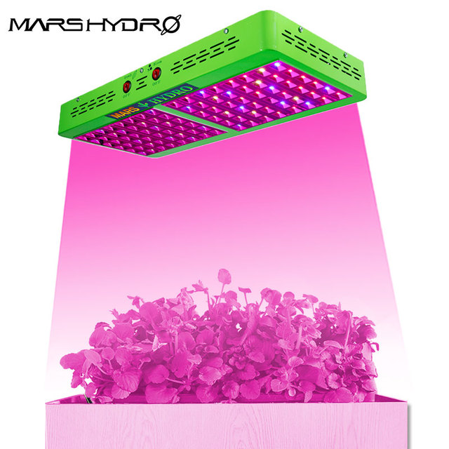 Mars hydro reflector 600W led grow light indoor full spectrum hydroponic greenhouse system indoor garden plant growing light