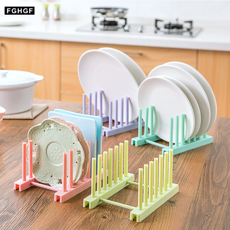 New Under Sink Bowl Plate Dish Drainer Rack Plastic Book