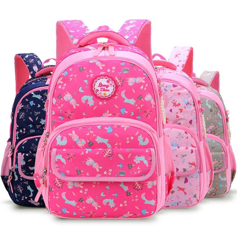 Children School Backpacks Girls School Bags Kids Backpacks Kids Satchel Princess Schoolbags Mochila Escolar Printing Backpack