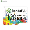 RondaFul High Speed micro sd Card TF 128GB 64GB 32GB 16GB 8GB for Smart Phone Tablet Camera Class 10 Dropshipping Memory Card