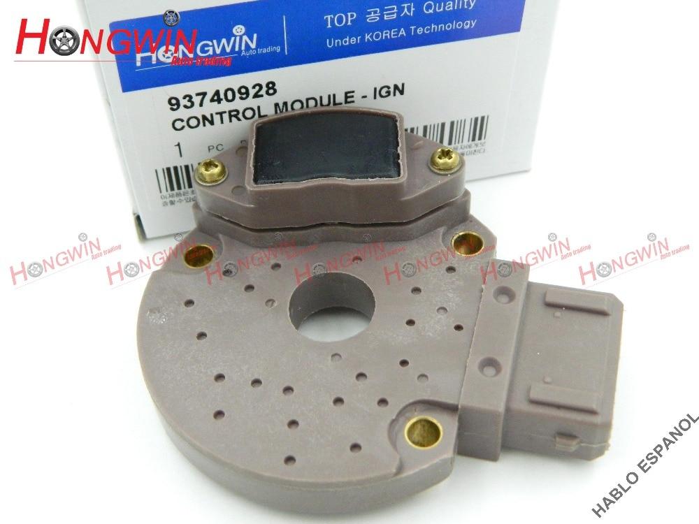 93740928 Ignition Control Module Fits Chevrolet: MATIZ Spark Daewoo MATIZ 937 409 28,9374 0928