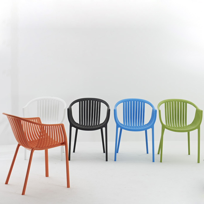 Plastic Outdoor Dining Chairs.Fashion Casual Hollow Plastic Chairs Modern Dining Chairs