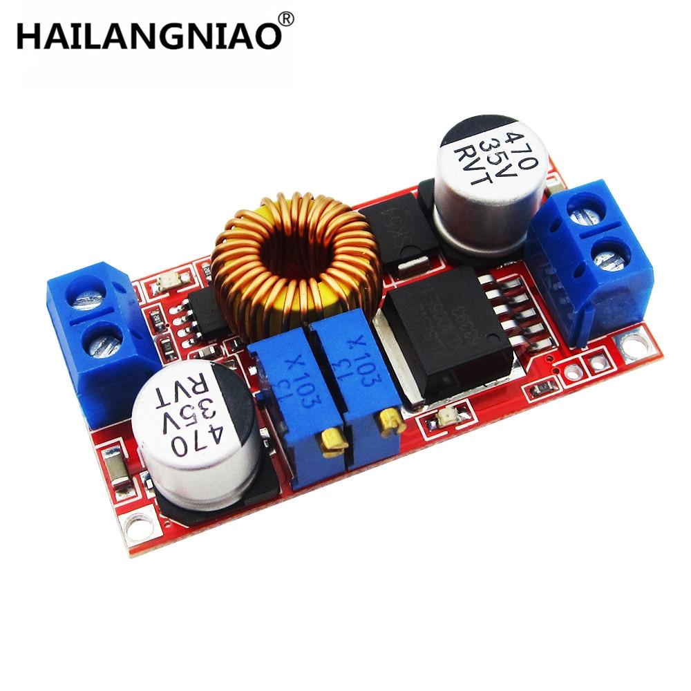 5A constant current LED driver module battery charging constant voltage DC-DC power module 7 5w 300ma constant current regulated led driver circuit board module black