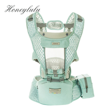 Honeylulu Summer Breathable 3 in 1 Baby Carrier Sling For Newborns Kangaroo Ergoryukzak Hipsit Seat Detachable Backpack
