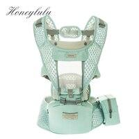 Honeylulu Summer Breathable 3 in 1 Baby Carrier Sling For Newborns Kangaroo For Baby Ergoryukzak Kangaroo Detachable Window