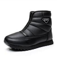 Men Ankle Boots 2017 New Arrivals Platform Snow Boots For Men Waterproof Non Slip Winter Shoes