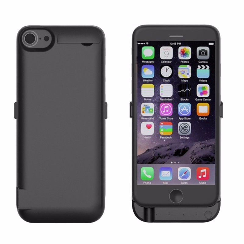 For Iphone 7 Power Case High Capacity 10000 mAh Power Bank Battery Charger Case Cover Smart External For Iphone 7 Power Case