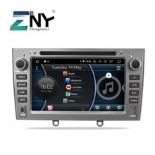"""7 """"IPS Android 9.0 Car Stereo GPS Per Peugeot 308 408 Auto DVD Radio FM RDS Audio Video Headunit di navigazione WiFi della Macchina Fotografica di Backup"""