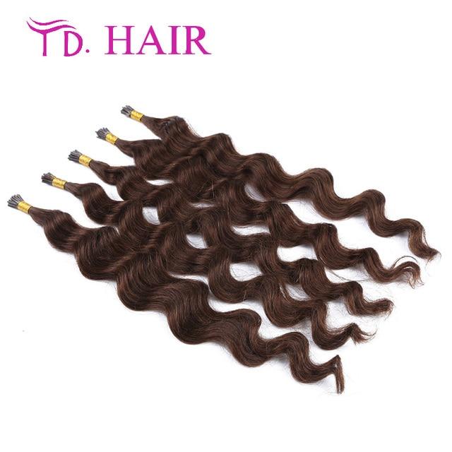 4 Grade 7a I Tip Human Hair Extensions I Tip Deep Hair Pre Bonded